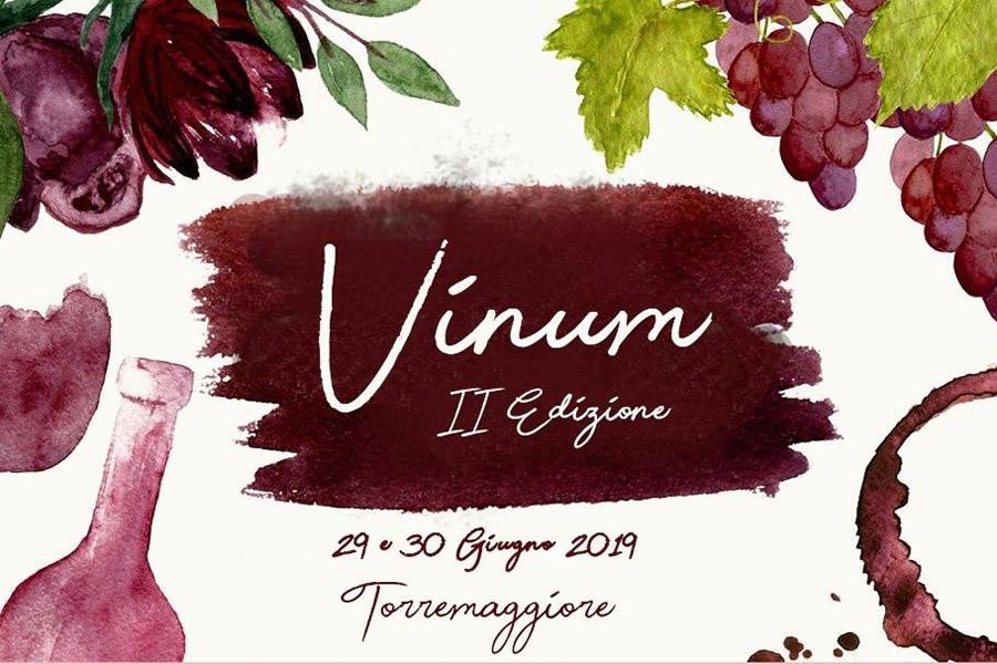Nero di Troia a Vinum 2019: date e programma