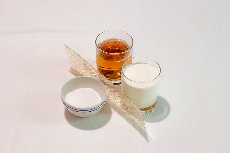Ingredienti della Panna cotta alla birra