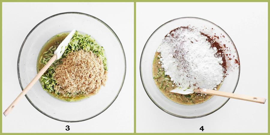 Dolci vegani semplici: Torta alle zucchine con cacao e nocciole