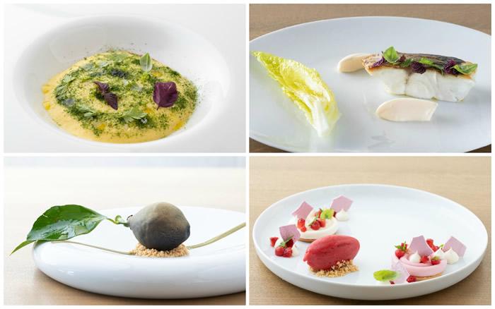 Menu dello chef chef Angelo Carannante al Caracol di Bacoli