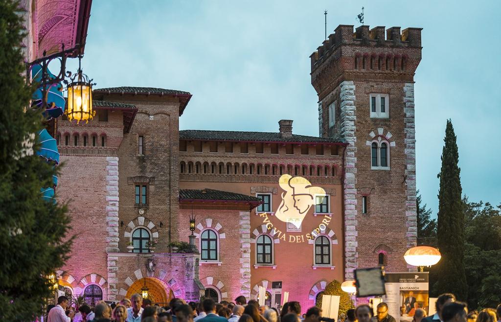 Programma della Cena spettacolo al Castello di Spessa