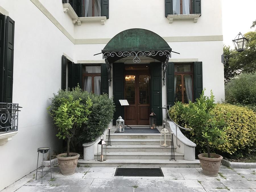 Chef Alessandro Rossi a Villa Selvatico di Roncade