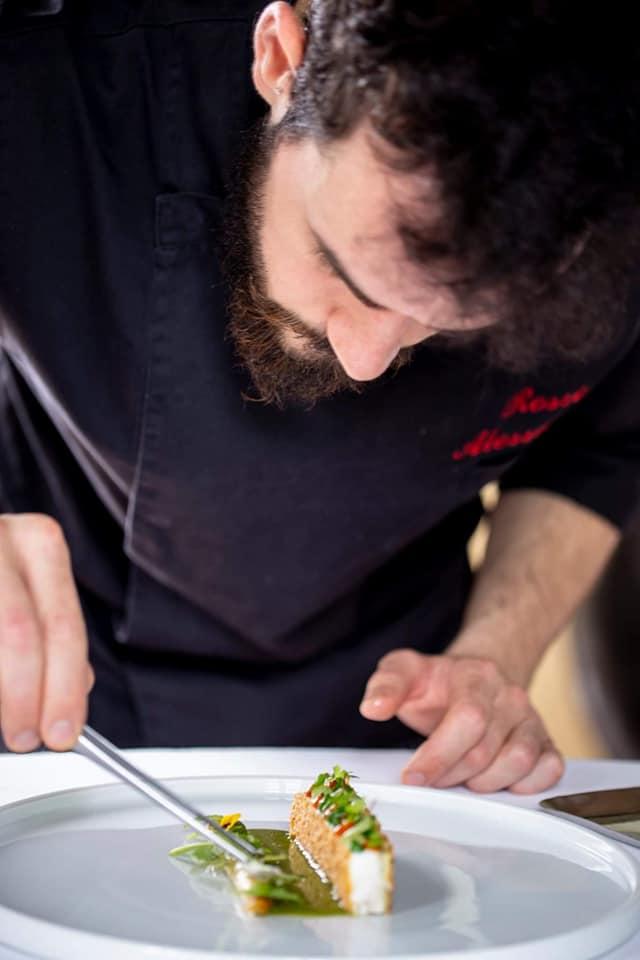 Alessandro Rossi, chef di Villa Selvatico