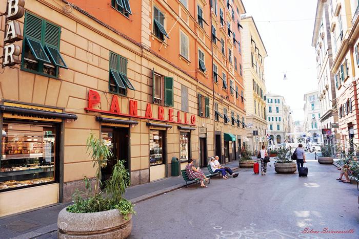 Fare colazione a Genova alla Pasticceria Panarello