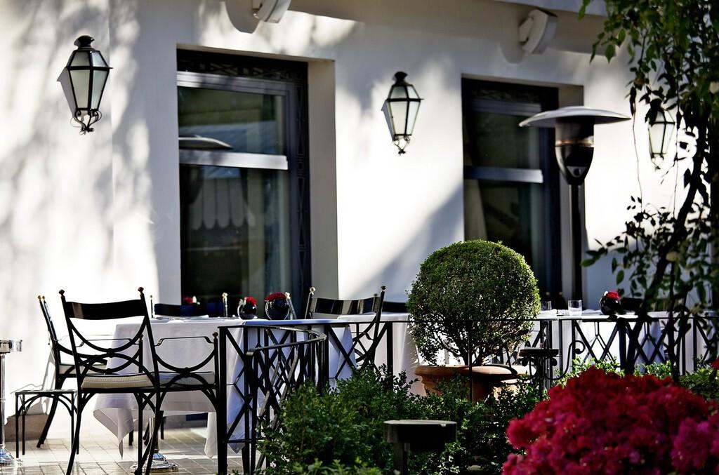 Ristorante Assaje Roma Hotel Aldrovandi Villa Borghese