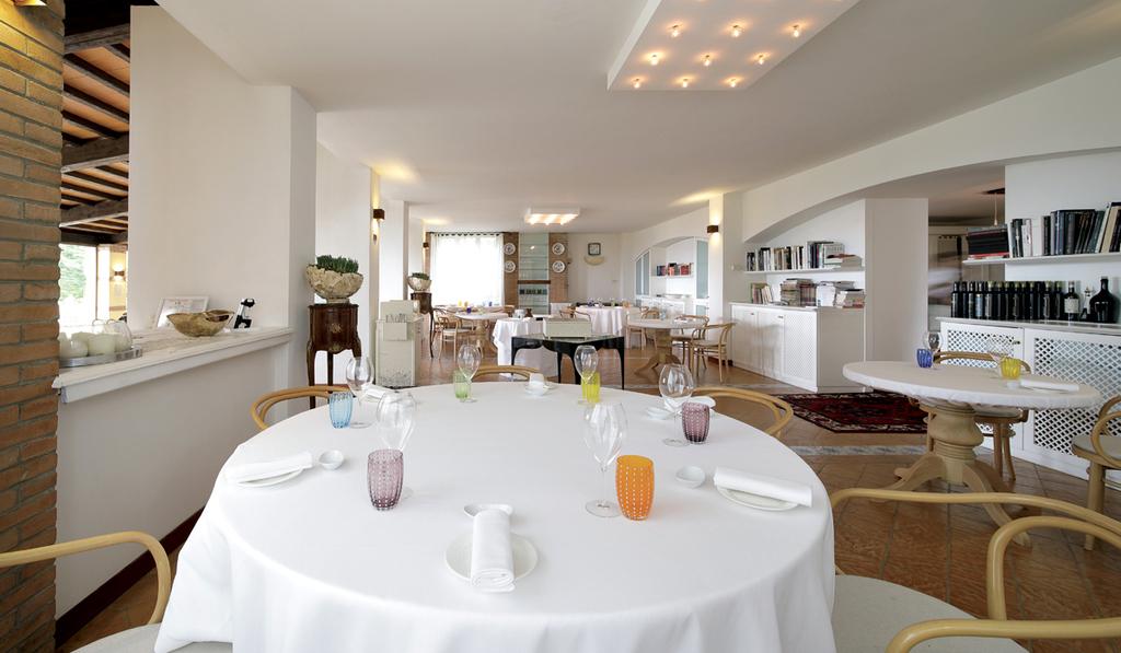 Ristorante La Bandiera: la cucina stellata a Civitella Casanova