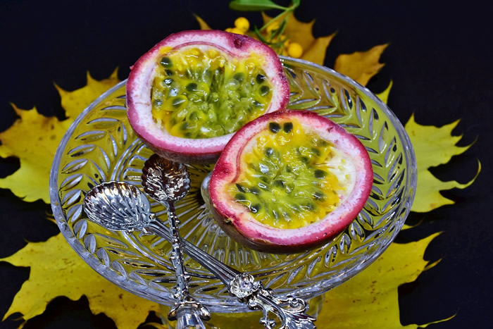 Dessert al cocco e maracujá