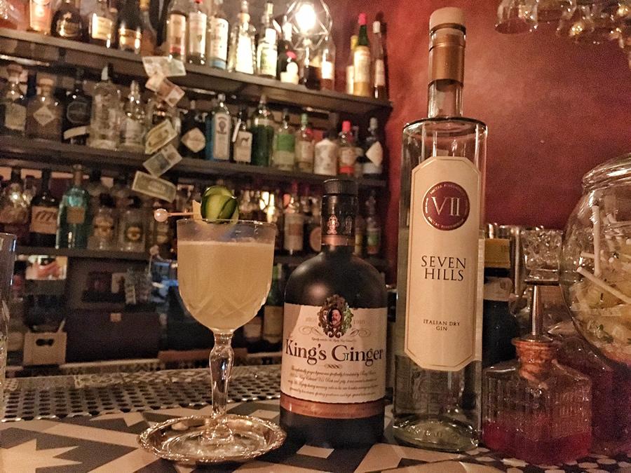 Drink ispirato a I Fantastici 4: Ginger Hills