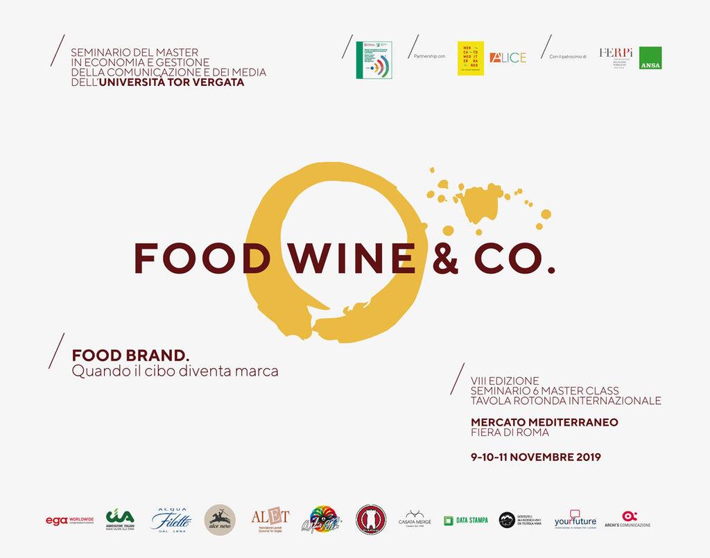 Argomenti del seminario sul Food branding alla Fiera di Roma