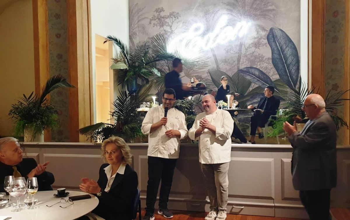 Cena a I Portici di Bologna