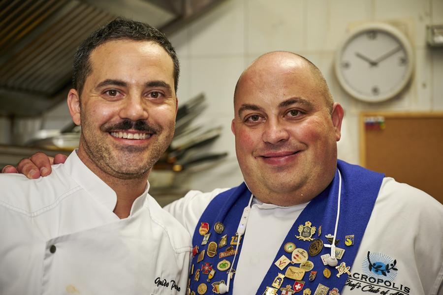 Chef Guido Perino e Zafferano Kozanis DOP