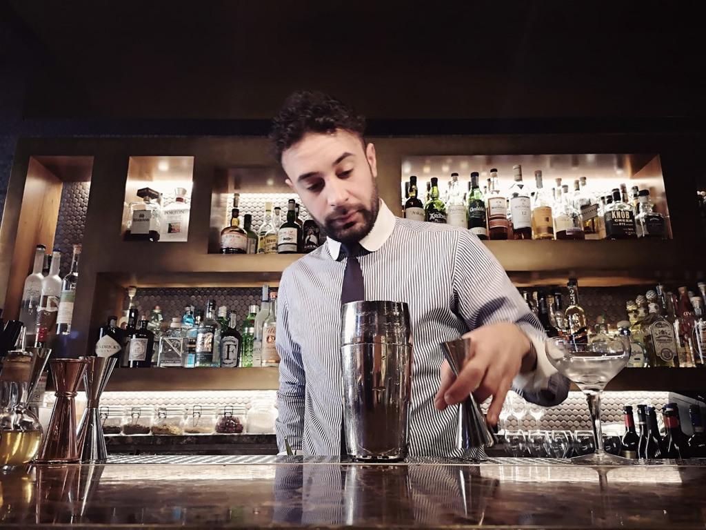 Vincenzo Tropea, bartender del Ristorante Pierluigi di Roma