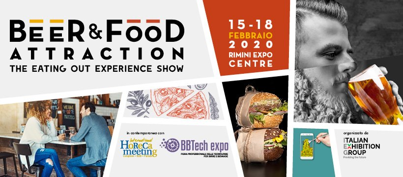 Locandina di Beer&Food Attraction 2020 a Rimini