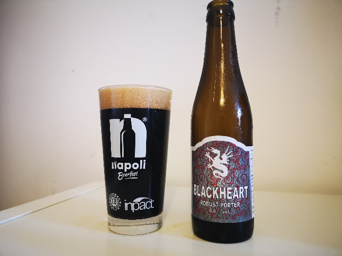 Birra Blackheart del Birrificio dell'Aspide