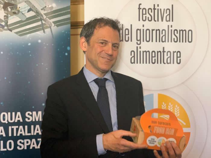 Massimiliano Borgia, direttore del Festival del Giornalismo Alimentare