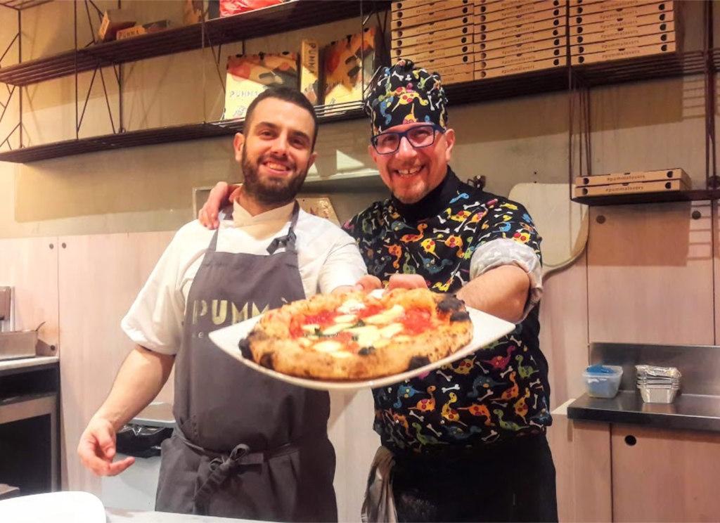 Giovannni Santarpia da Pummà Bologna: cena a quattro mani