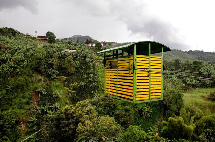 Coltivazione di caffè in Colombia