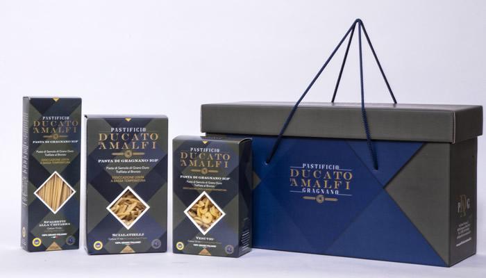 Prodotti del Pastificio Ducato d'Amalfi Gragnano