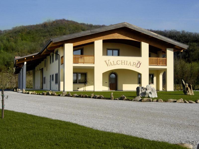 Azienda Valchiarò: l'esterno