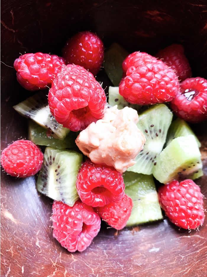 Spuntino antinfiammatorio a base di frutta