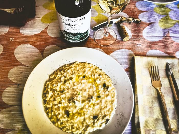 Monte Zovo Wohlgemuth con risotto