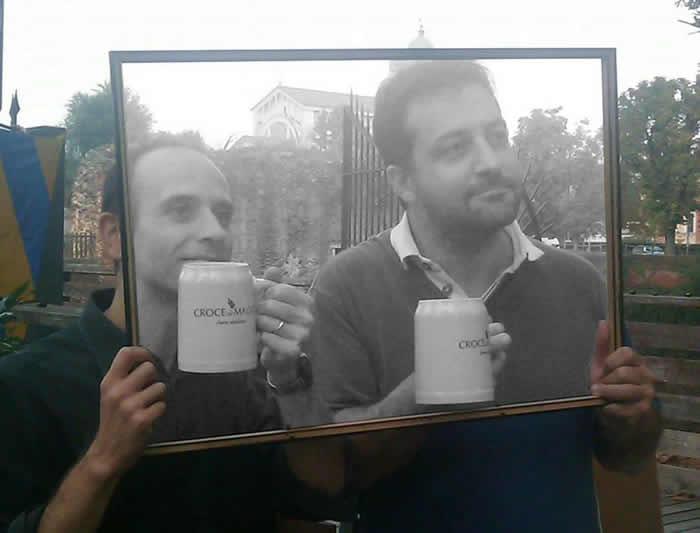 Alessio Selvaggio e Federico Casari