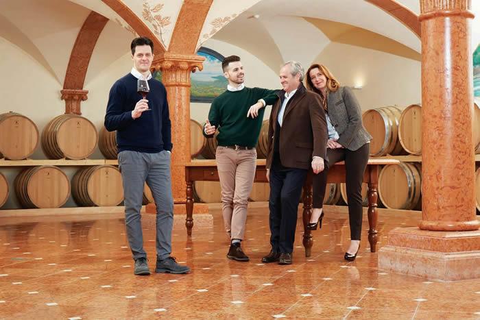 Famiglia Cottini di Cantina Monte Zovo