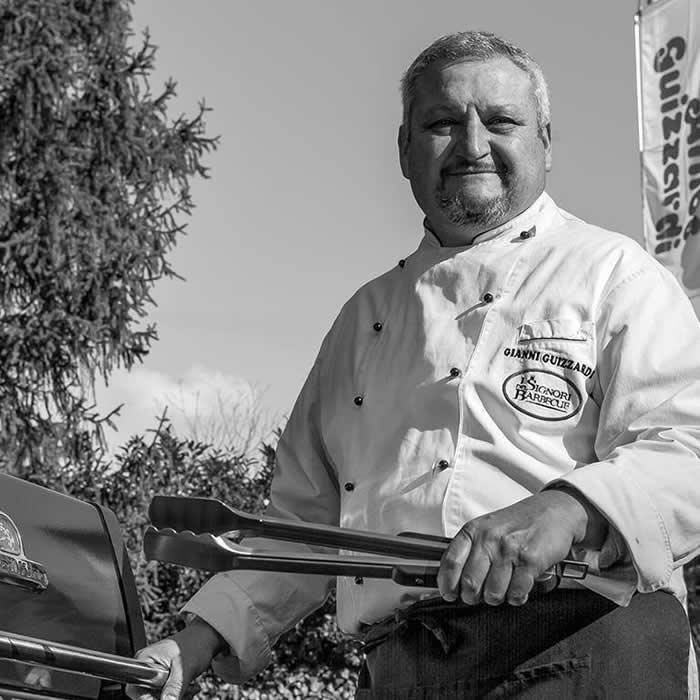 Gianni Guizzardi: barbecue