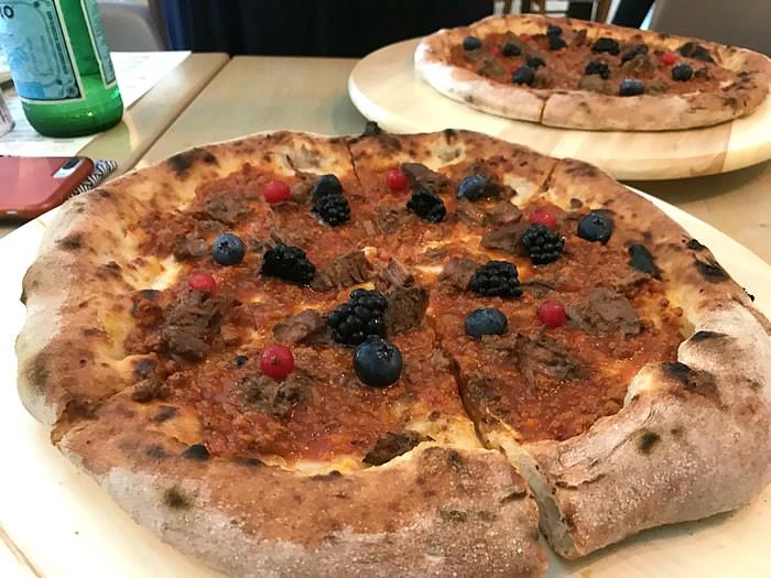 Gianni Di Lella: pizza Sottobosco