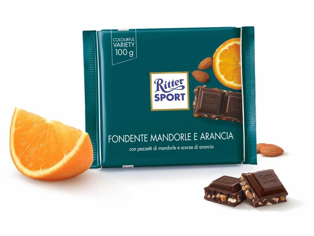 Cioccolato quadrato Ritter Sport