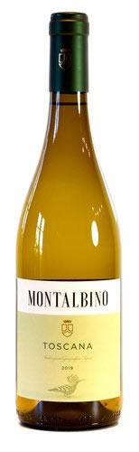Bottiglia di Bianco Toscana IGT Montalbino