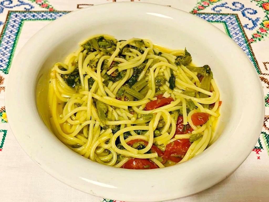 Pasta con i tenerumi, la ricetta siciliana