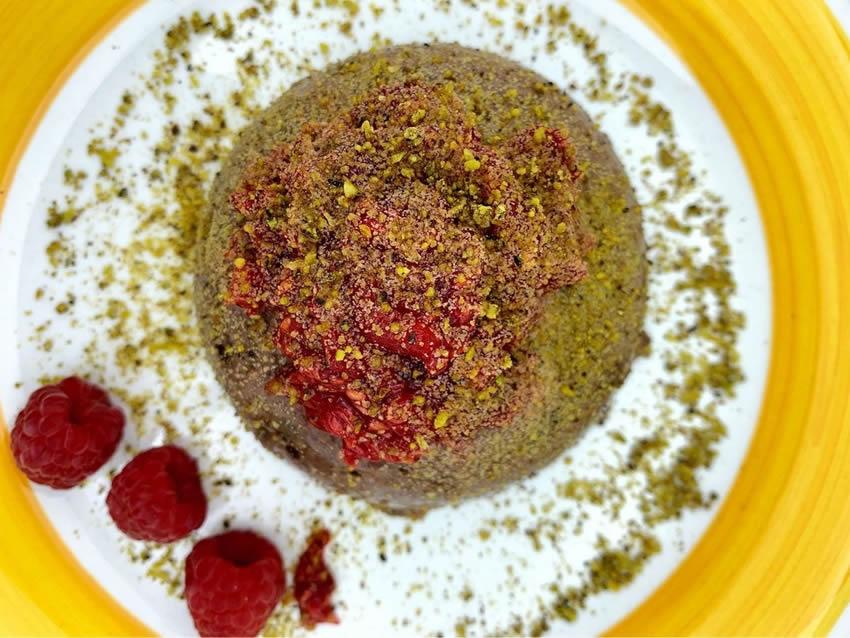Budino al cacao con stevia