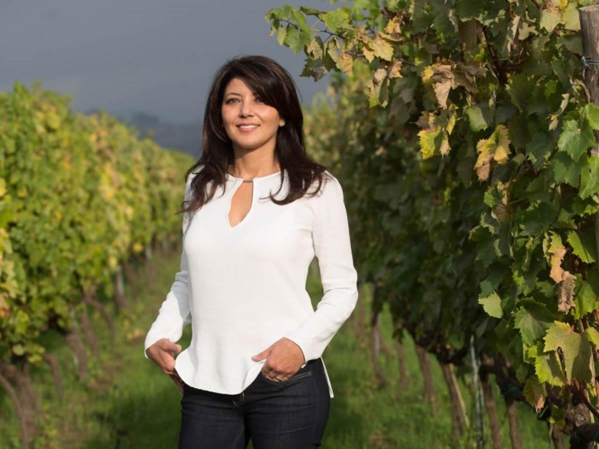 Gina Russo. presidente Strada del Vino dell'Etna
