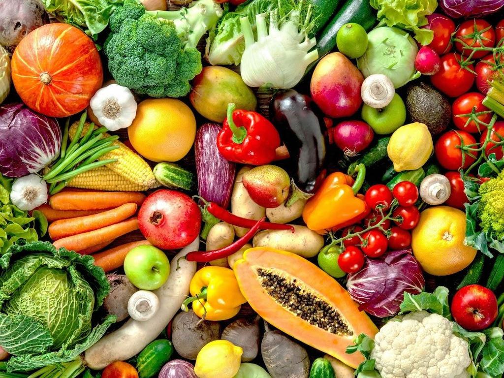 Mangiare a colori: frutta e verdura colorata