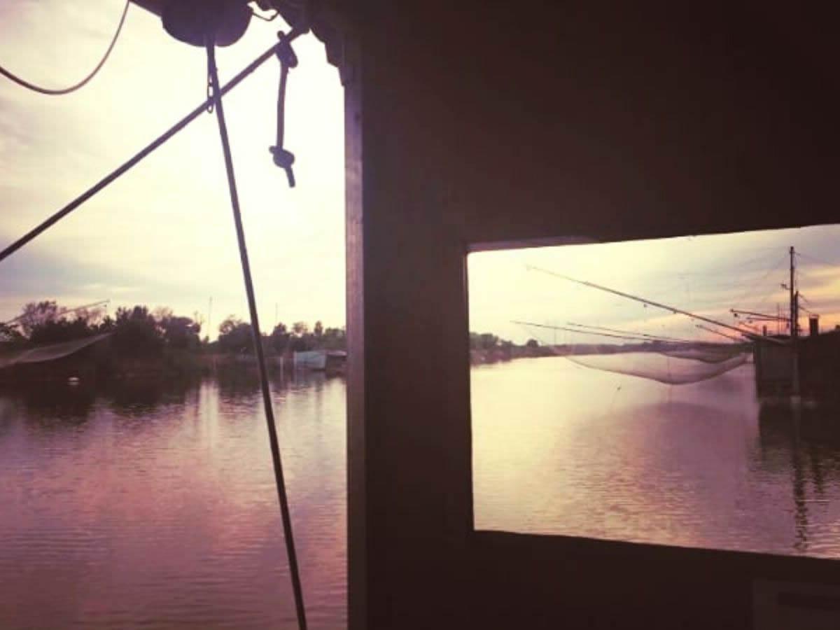 Panorama del delta del Po