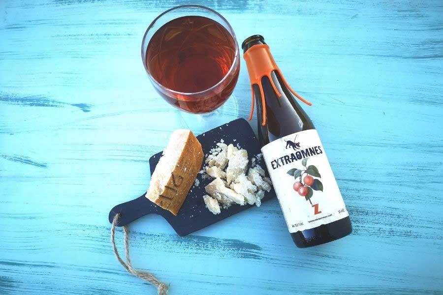 Birra Extraomnes e Parmigiano 72 mesi
