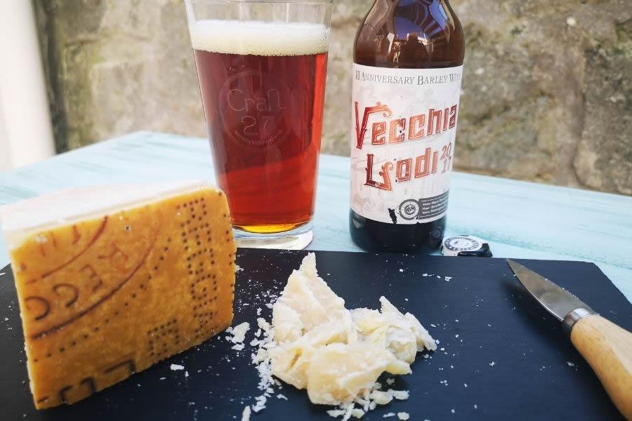 Birra e Parmigiano 72 mesi