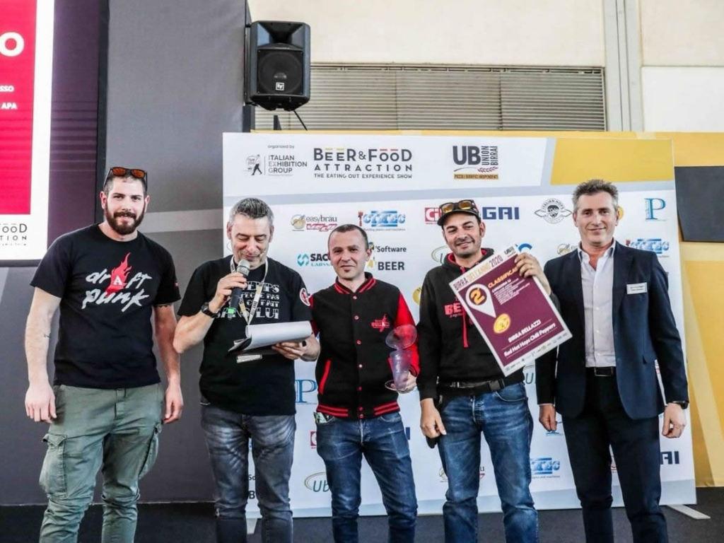 Birra Bellazzi: premiazione birra dell'anno