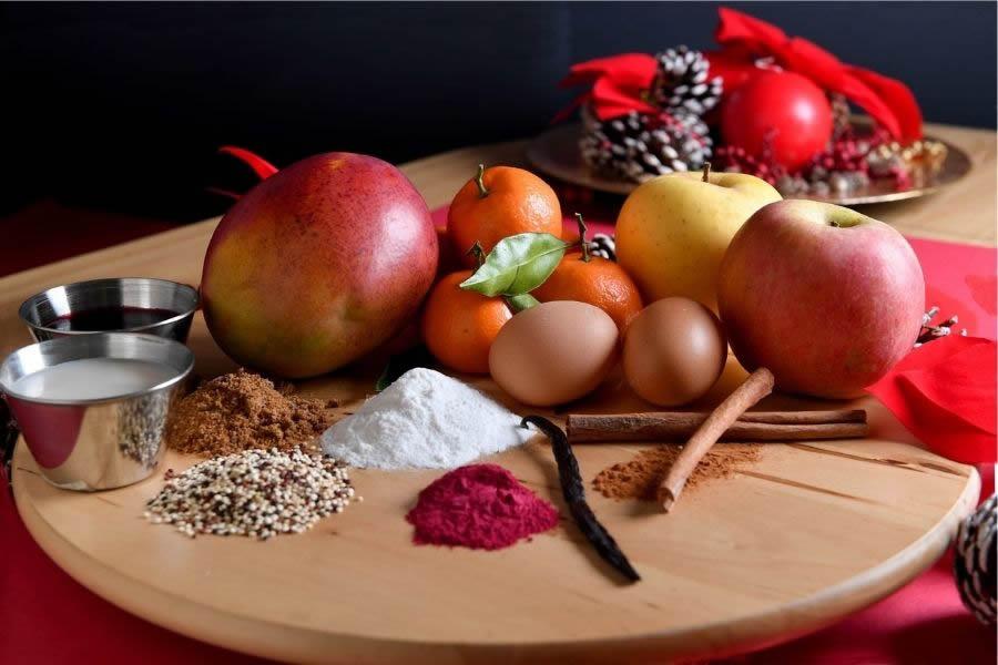 Ingredienti della Christmas Rapa-Red