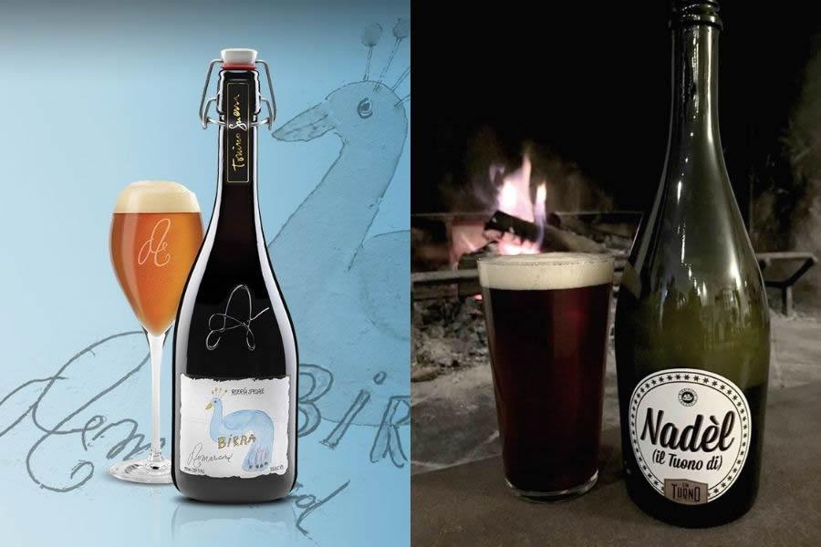 birra Amarcord e Nadel di Birrificio Valsenio