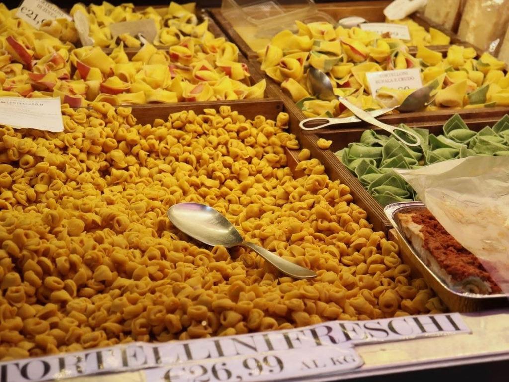 Mercato del Quadrilatero a Bologna