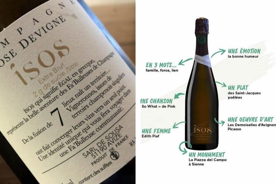 Massucco Champagne presenta Isos Terroire 1, Les Fa'Bulleuses