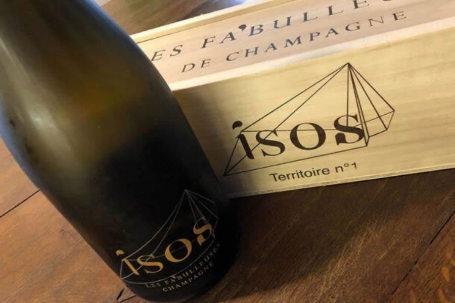 Champagne Isos Terroire 1 di Les Fa'Bulleuses