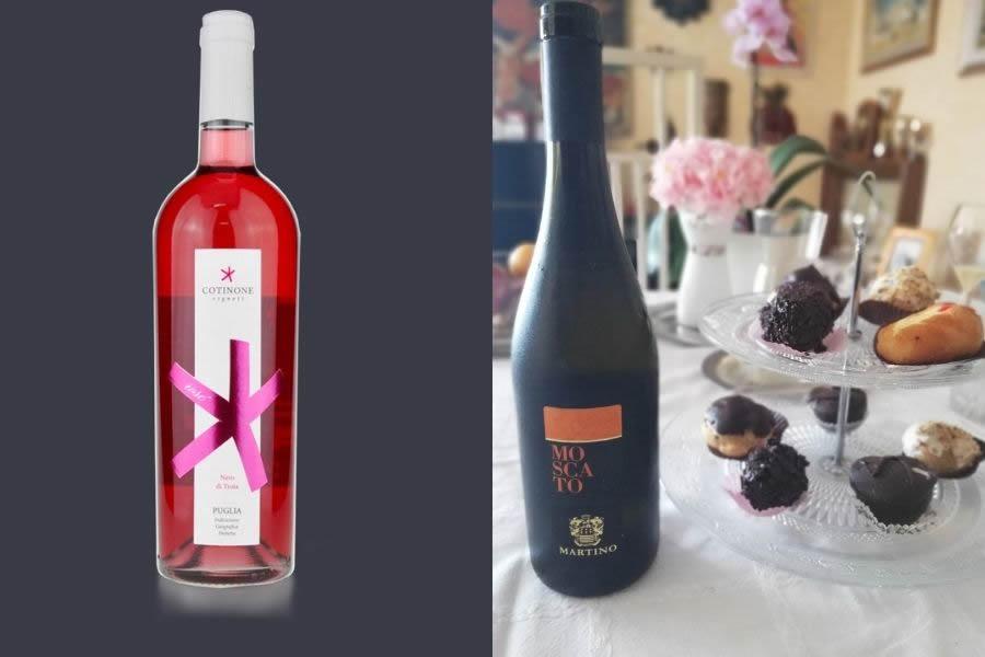 Lista di vini per San Valentino