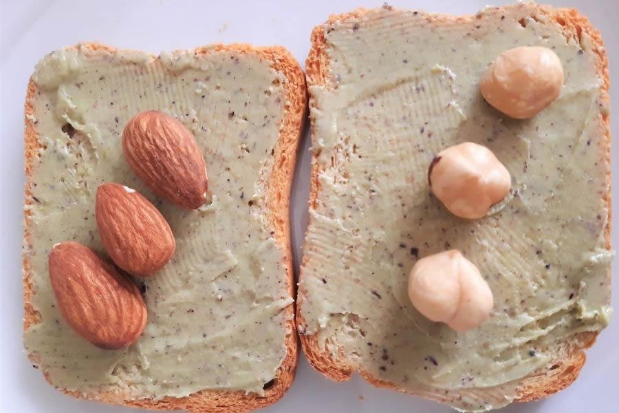 Fruua secca e crema al pistacchio durante il ciclo mestruale