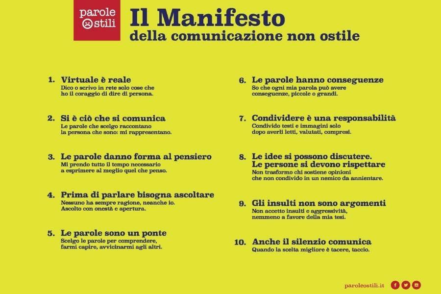 Manifesto di Parole Ostili