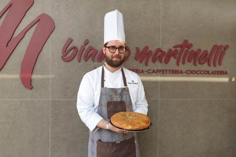 Biagio Martinelli con la sua polacca rustica