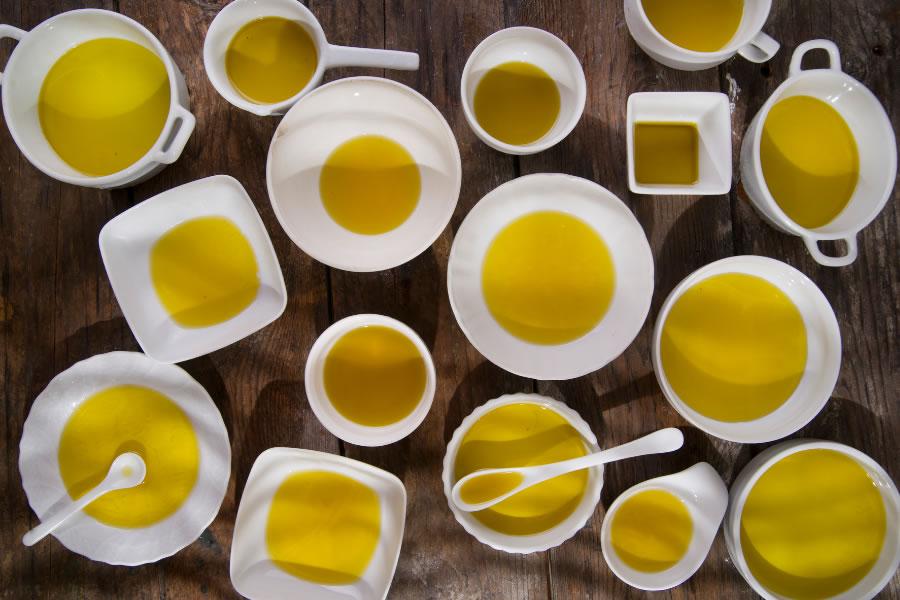 valutare pregi e difetti dell'olio d'oliva