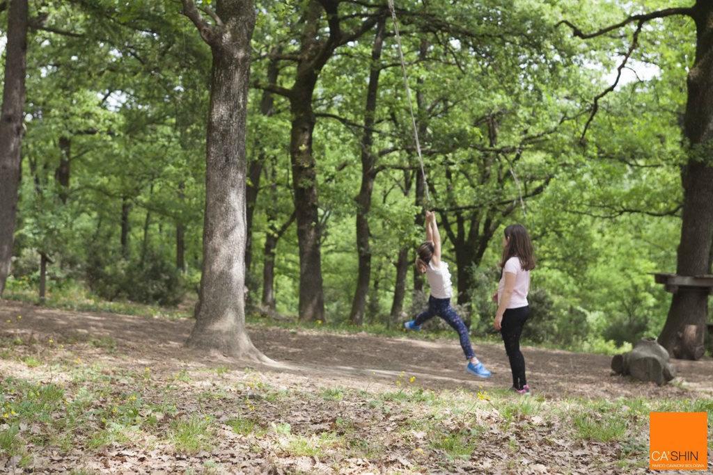 BOsco di Ca' Shin: l'area per bambini nel Parco Cavaioni di Bologna